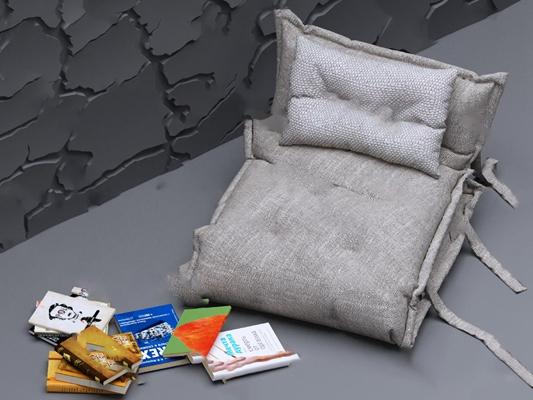 单人沙发3D模型【ID:920012625】