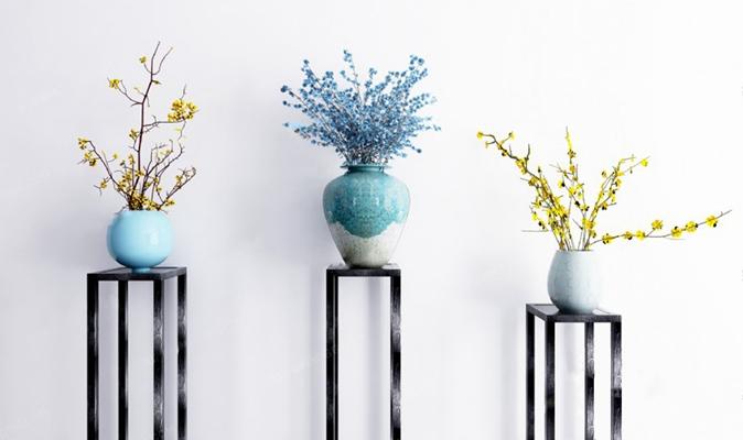 现代花瓶3D模型【ID:926230567】