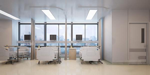 現代醫院病房3D模型【ID:946259708】