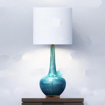 现代玻璃台灯3D模型【ID:67054914】