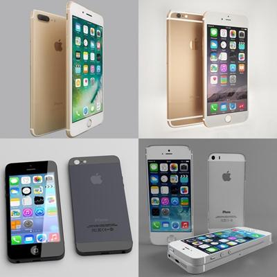 现代苹果手机系列3D模型【ID:67062845】