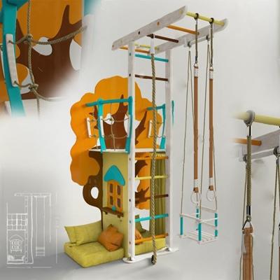 游乐设备3D模型【ID:67086402】
