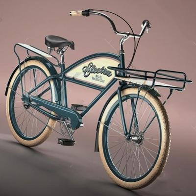 自行車3D模型【ID:67087877】