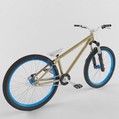 自行车3D模型【ID:67092078】