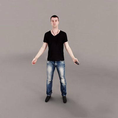 男人3D模型【ID:67093843】