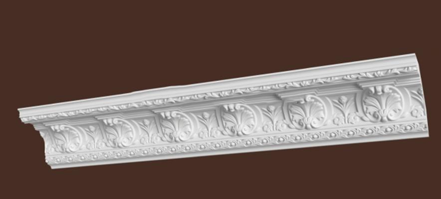 欧式雕花石膏线条3d模型【id:67150999】