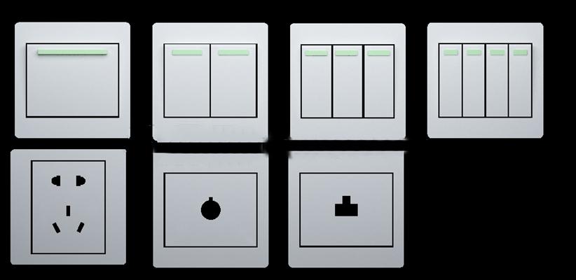现代面板插座开关组合3D模型下载【ID:67151194】