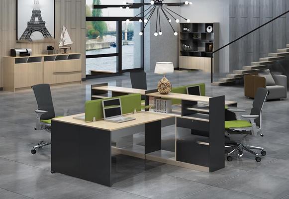 现代办公桌椅3D模型【ID:67221163】