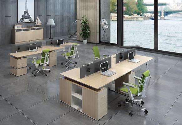 现代办公桌椅3D模型【ID:67221165】