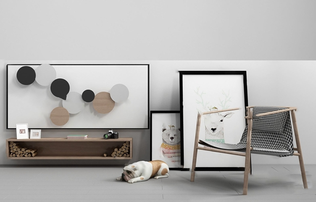 北欧休闲椅3D模型【ID:220618451】