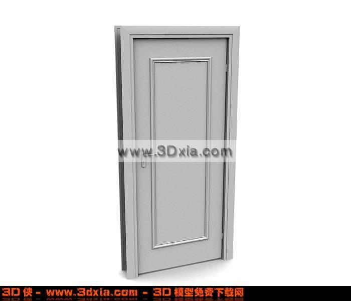 简单的3D模型门下载【ID:673】