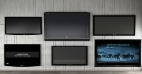 现代液晶电视组合3D模型【ID:127752365】