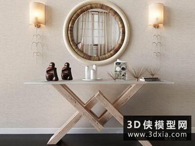 現代案幾國外3D模型【ID:729359769】