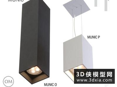 射燈國外3D模型【ID:929352184】