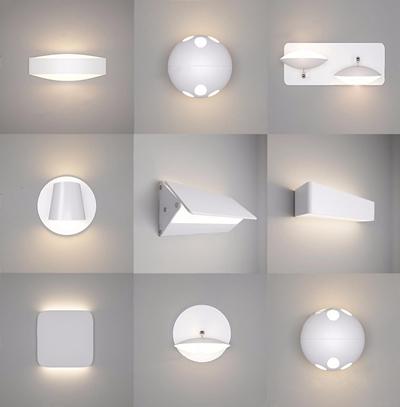 现代壁灯组合3D模型【ID:528015957】