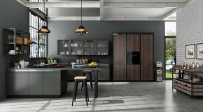 工业风厨房厨柜33D模型【ID:927829501】