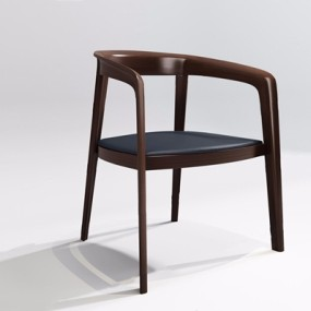 新中式餐椅-P3D模型【ID:327889016】