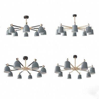 现代吊灯3D模型【ID:226222873】