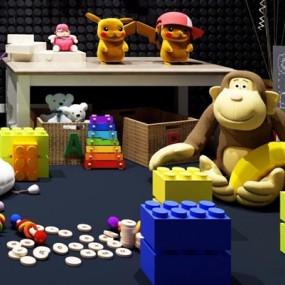 玩具组合3D模型【ID:528007712】