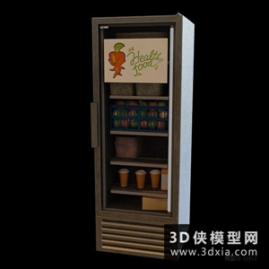 超市货架国外3D模型【ID:229847344】