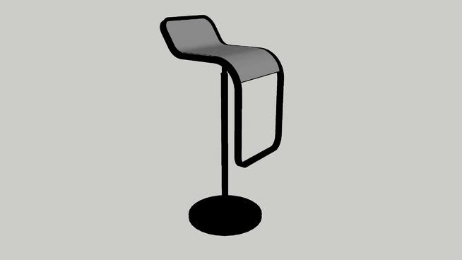 吧台(黑色)SU模型【ID:438102738】