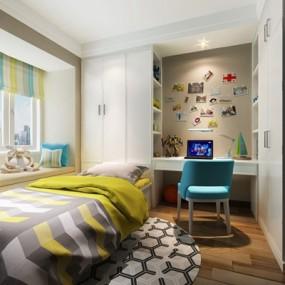 现代小孩房3D模型【ID:127866294】