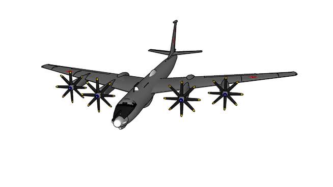 TU-95熊SU模型【ID:839854508】