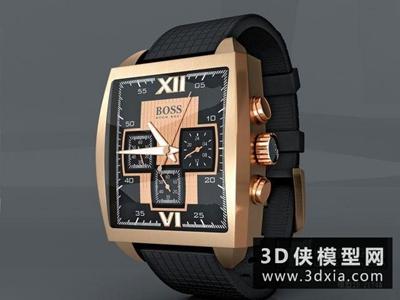 手表國外3D模型【ID:929450633】