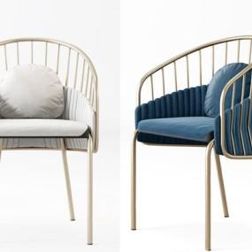 现代奢华椅子3D模型【ID:227890443】