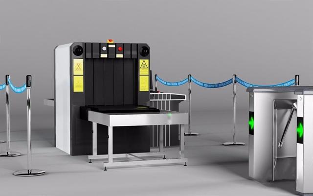 现代安检设备3D模型【ID:928329901】