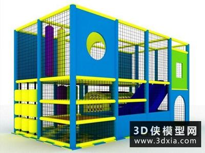 儿童游乐场国外3D模型【ID:129515979】