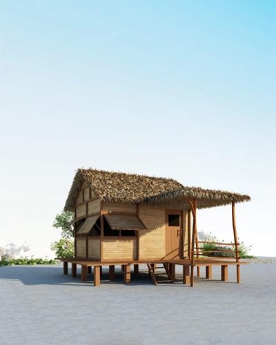 传统中式建筑3D模型【ID:920012962】