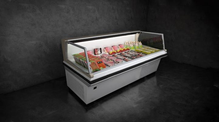 现代冰柜3D模型【ID:824885032】