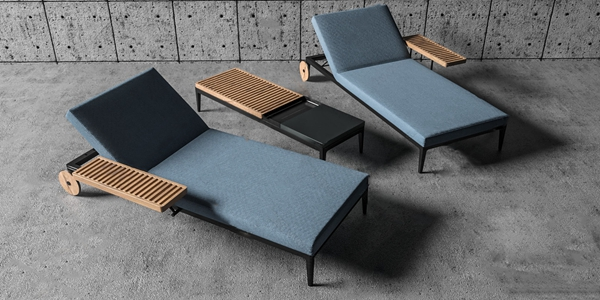现代躺椅3D模型【ID:734506365】