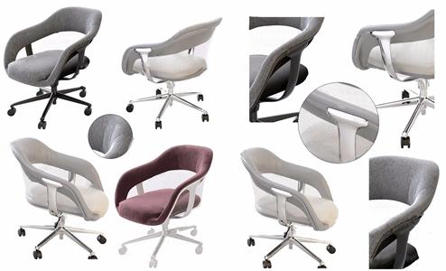 现代办公椅子3D模型【ID:734735421】