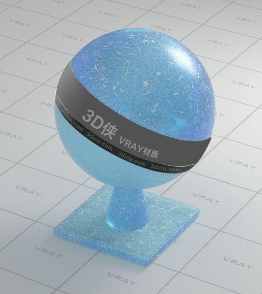 玻璃Vray材质【ID:736454577】