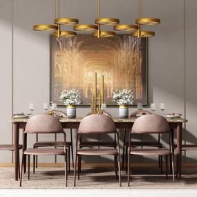现代餐桌椅组合3D模型【ID:328246606】