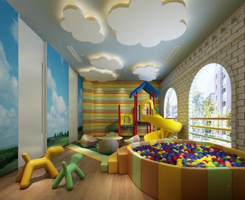 兒童活動區3D模型【ID:127846631】
