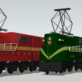 Ge / Westinghouse 4884 PRR gg1: 电力机车 火车 集装箱船 运货车厢 蒸汽机车 【ID:438144923】