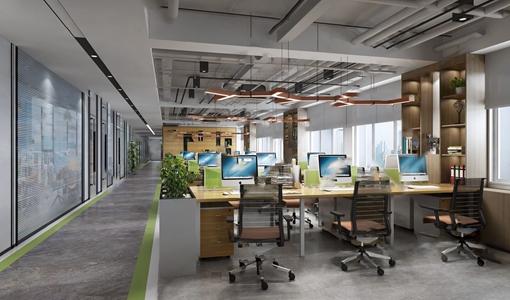 現代辦公室3D模型【ID:220802461】