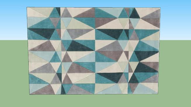 6尺9的地毯SU模型【ID:538150070】