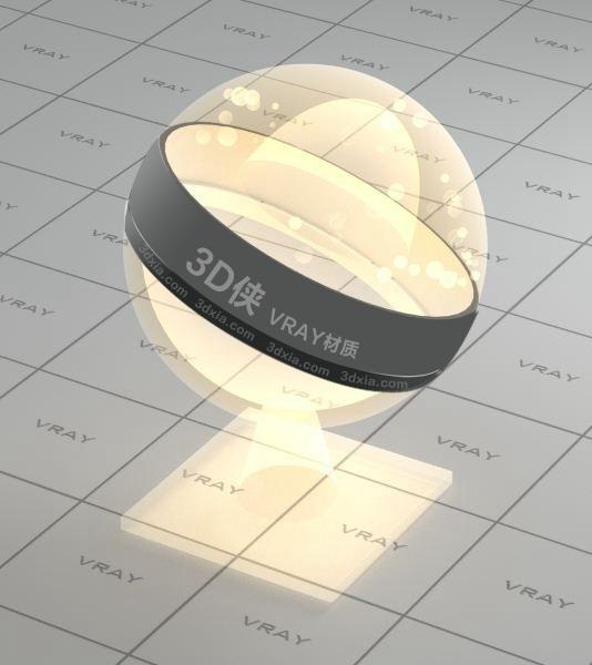 燈泡Vray材質【ID:736455548】