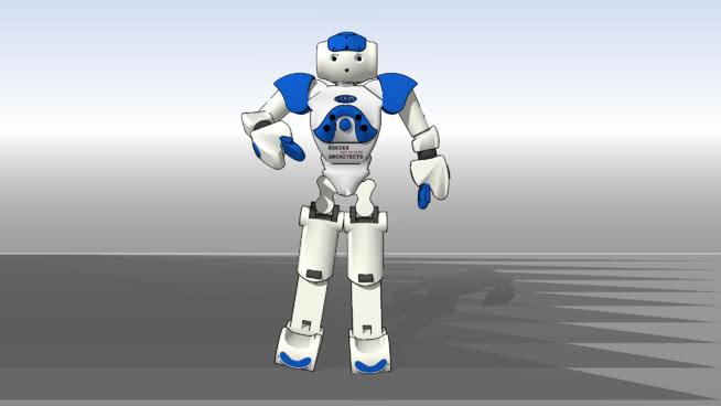 佐拉NAO机器人SU模型【ID:639885723】