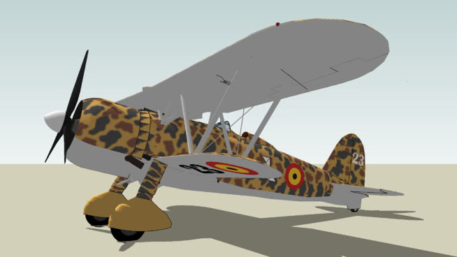 比利時空軍菲亞特CRSU模型【ID:839886572】