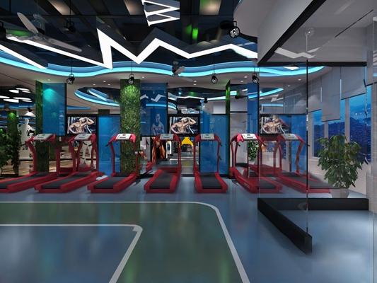 健身房3D模型【ID:320608683】