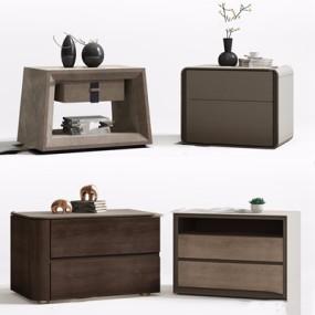 现代床头柜3D模型【ID:928212606】