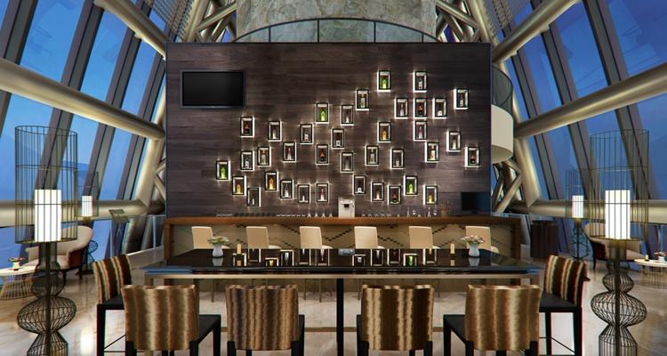 现代主题餐厅3D模型【ID:714966923】