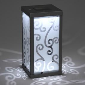 新中式玻璃地灯3D模型【ID:715254154】