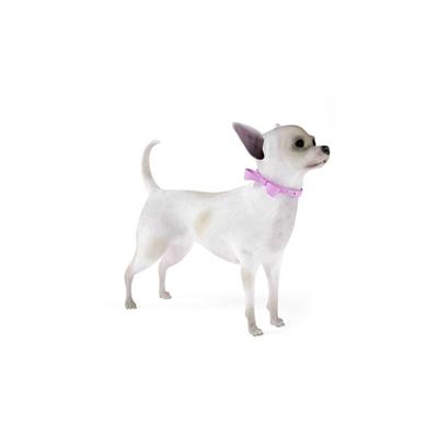 白色狗3D模型【ID:715273756】