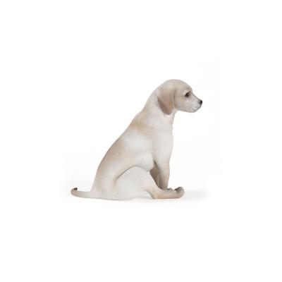 白色狗3D模型【ID:715273782】